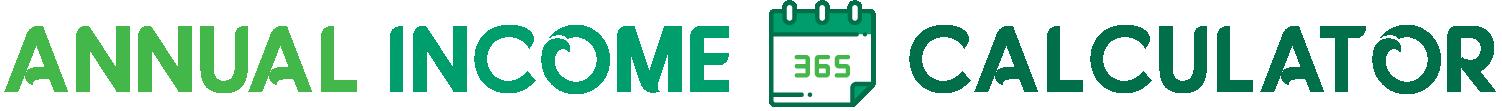 Annual Income Calculator Logo.