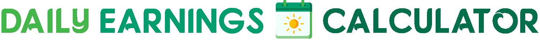 Daily Earnings Calculator Logo.