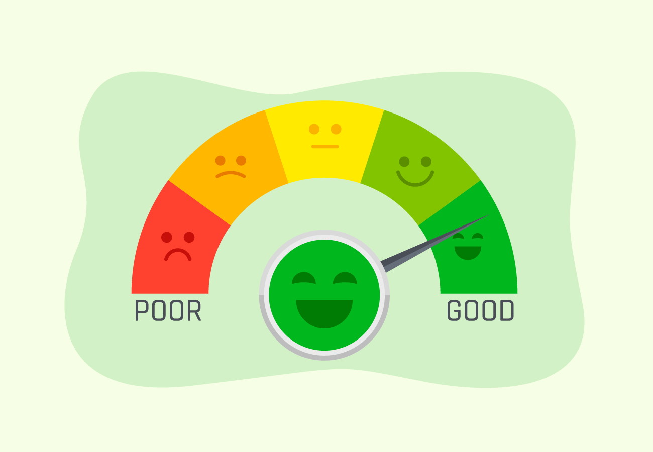 Highly positive credit score.
