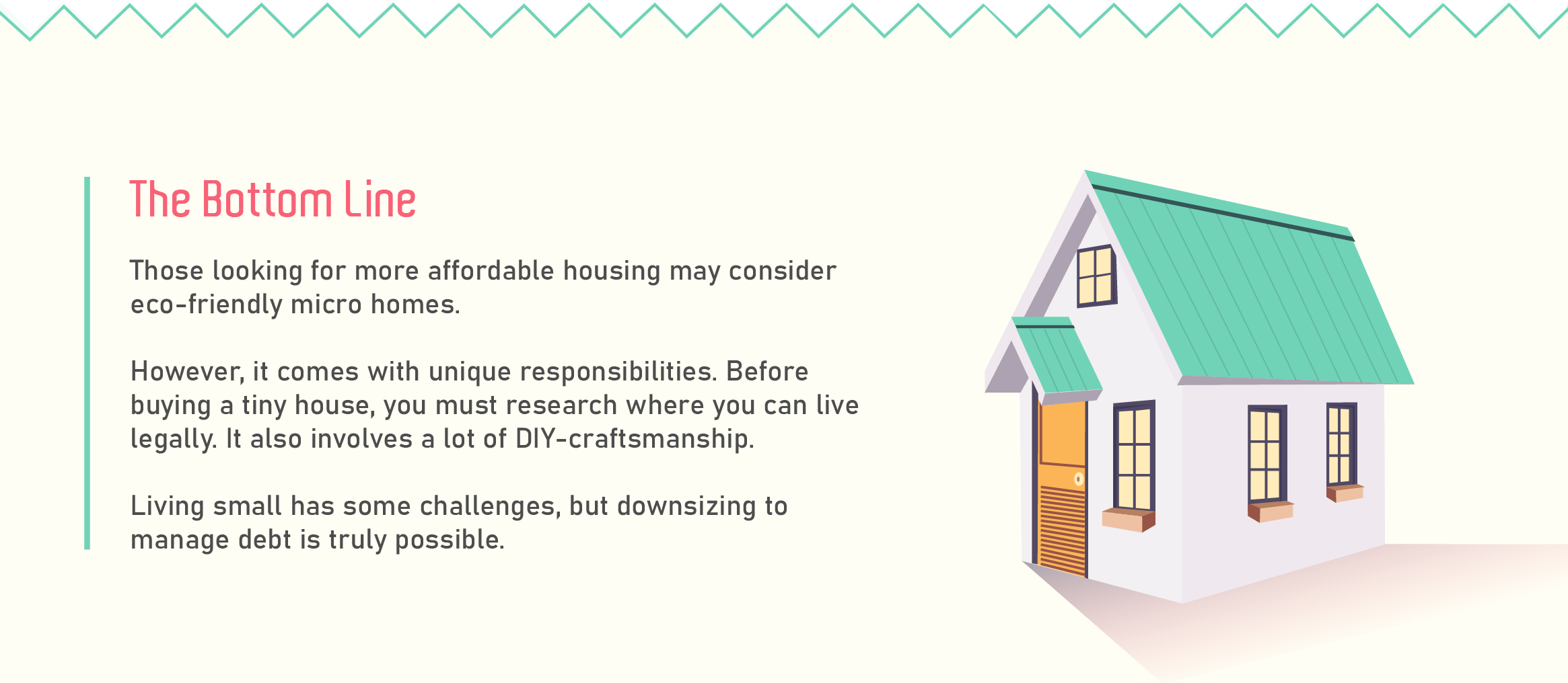 The bottom line for tiny homes