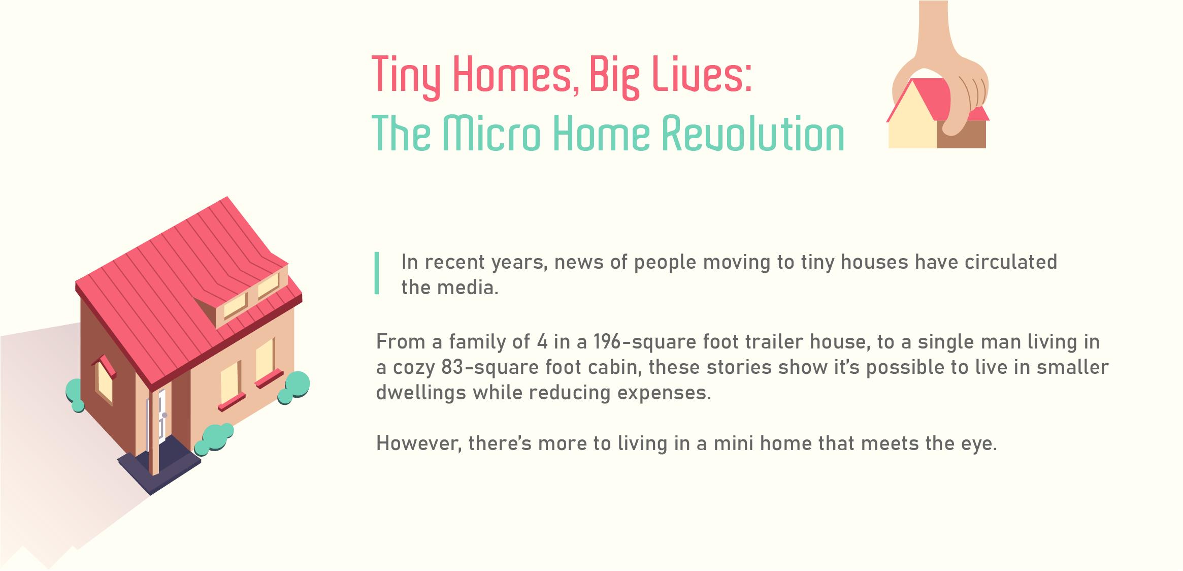 Tiny homes big live the micro revolution